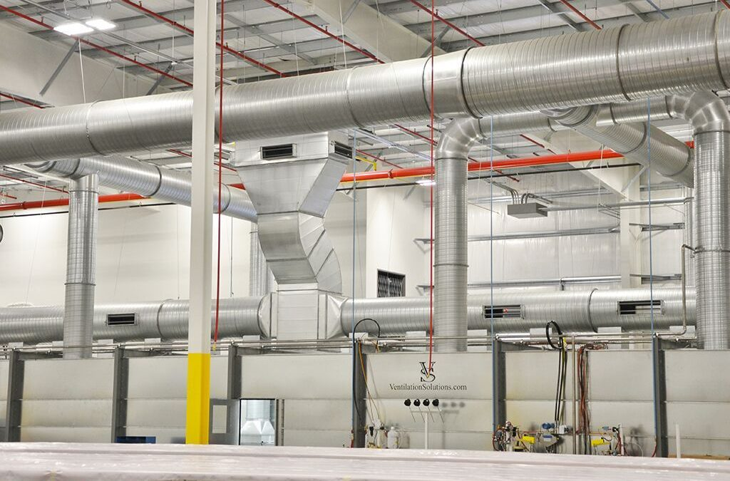 Industrial Exhaust Ventilation Systems : Designing a custom industrial ventilation system solution