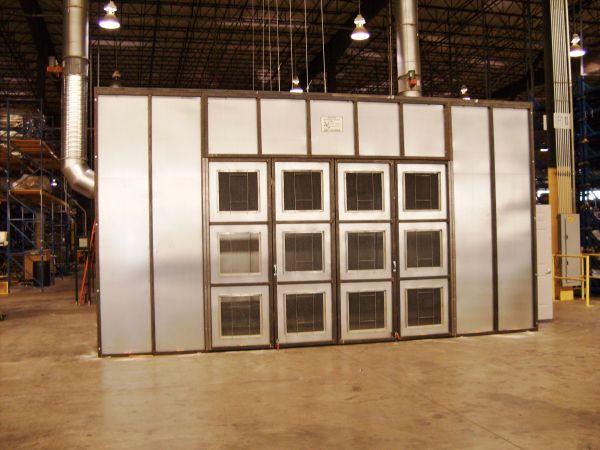 A Custom Enclosures Spray Booth