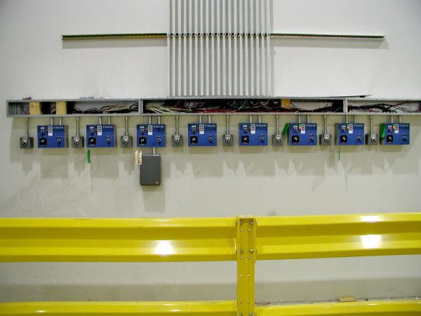 Controls Area that Have Been Installed