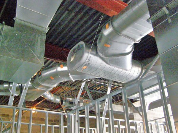 Example of Custom Industrial Ventilation System