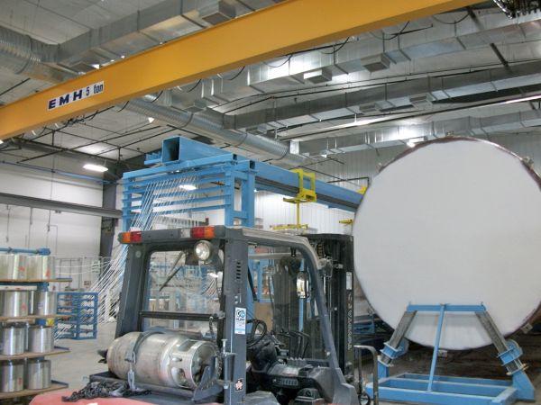 Ventilation Solution for Tank Lamination