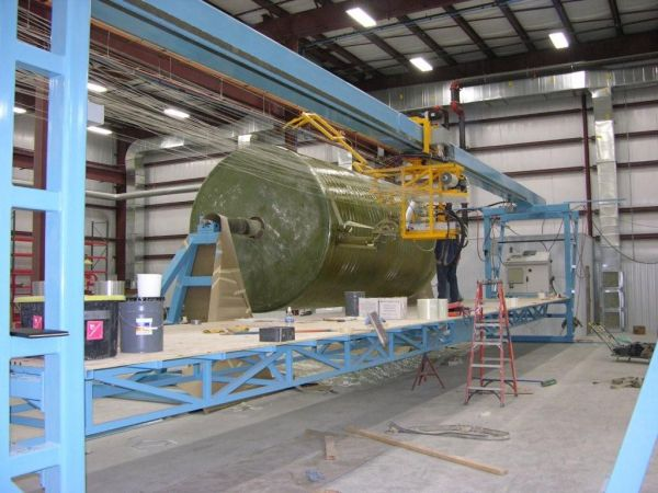 Ventilation Solutions for Tank Winding Systems