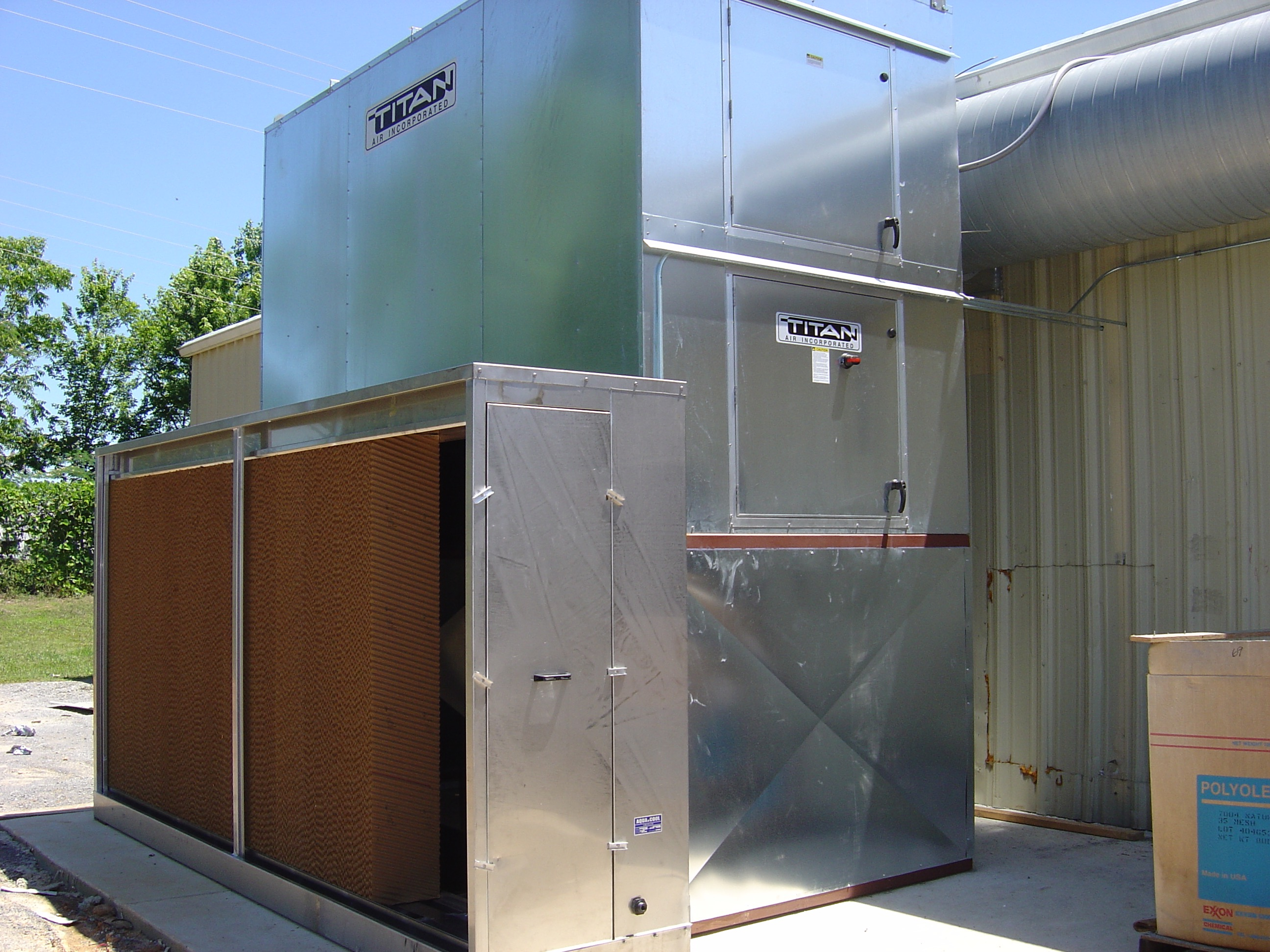Industrial Evaporative Cooling Systems : Ventilation solutions industrial images