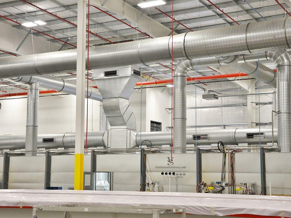 Industrial Exhaust Ventilation : Designing a custom industrial ventilation system solution