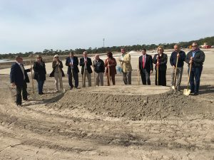 Ventilation Solutions attends Maverick Boat Group's groundbreaking ceremony of their new manufacturing facility