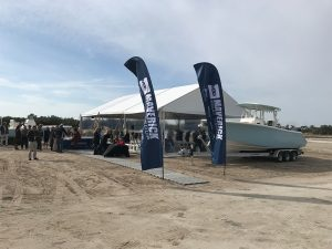 Groundbreaking ceremony of the Maverick Boat Groups new manufacturing facility